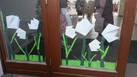Fensterdeko Frühling saç modelleri fensterdeko frã hling grundschule